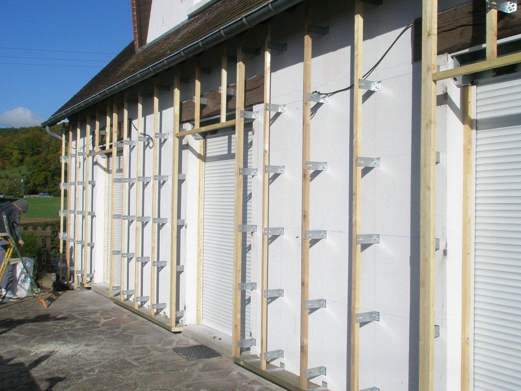 Isolation ext rieure maison bois 27 for Isolation par exterieur